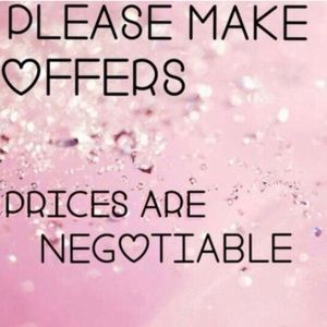 💞Prices Are Negotiable💞